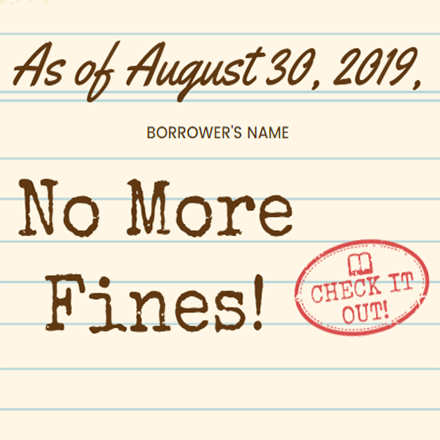 no more fines
