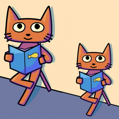 Image result for reading buddy clipart
