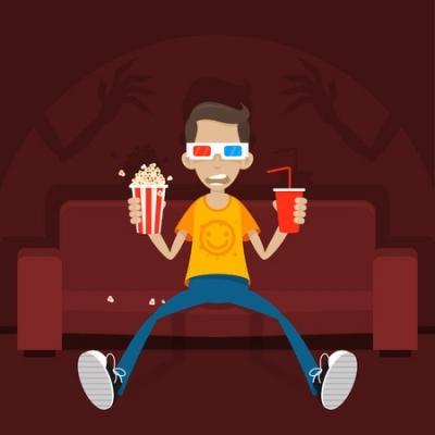 Image result for teen movie night library